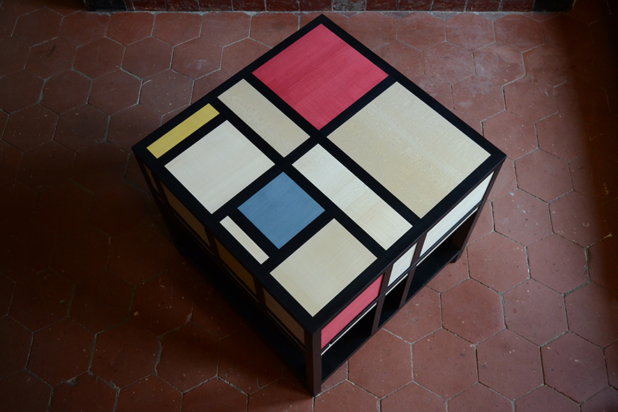 FB Table basse Mondrian 1